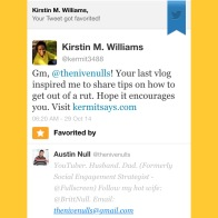 Kermit Says... favorited by a top YouTuber!